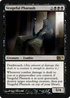 Magic: the Gathering - Vengeful Pharaoh - Magic 2012 $1.60