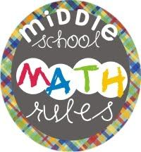 Middle School Math Rules:  First Day Activities