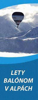 Lety balónom v Alpách,  Zľava:10%; 15% VIP