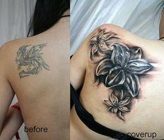 Hier erfahren Sie alles über die Vorteile von einem Cover up Tattoo, und finden Sie Designideen, von denen sie Inspiration schöpfen können!