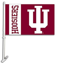Indiana Hoosiers IU NCAA Car Flag With Wall Brackett Set Of 2  http://allstarsportsfan.com/product/indiana-hoosiers-iu-ncaa-car-flag-with-wall-brackett-set-of-2/  Set of 2 car flags Comes with Free wall mount kit