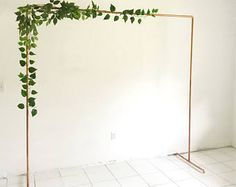 Copper Backdrop No.1- Wedding Backdrop - Wedding Arch - Copper Arch - Backdrop - Copper Wedding - Minimalist Decor - Floral Arch -6.5ft Tall