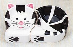 Cat food & water dish by Jett Enterprises