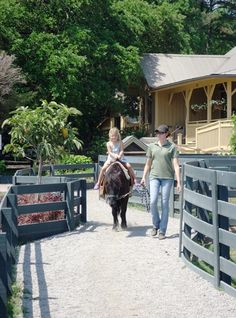 Pony Rides at Lawton Stables in Sea Pines