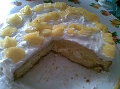 bolo de ananas(com recheio de natas batidas e ananas | Tortas e bolos > Recheio para bolo | Receitas Gshow