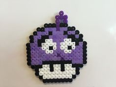 Fear - Inside Out mushroom perler beads by Bjrnbr - Björn Börjesson perler,hama,square pegboard,video games,nintendo, super mario bros,mushroom,