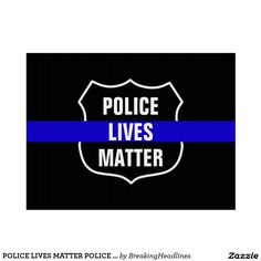 POLICE LIVES MATTER POLICE SUPPORT YARD SIGN