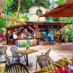 Blue Heaven-- brunch Key West