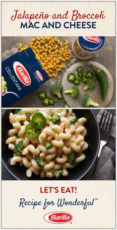 Customize the spiciness of this easy-to-make mac and cheese recipe with a little or a lot of jalapeño peppers!