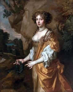 Portrait of a lady, Said to be Nell Gwyn by Peter Lely,c. 1670s