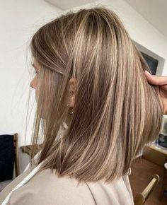 Brown Hair Balayage, Blonde Hair With Highlights, Blonde Hair Looks, Brown Blonde Hair, Sandy Blonde Hair, Brunette Hair, Grunge Hair, Gorgeous Hair, Beautiful