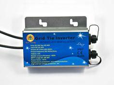 300W 260W Waterproof DC To AC Solar Grid Tie Micro Inverter