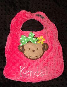 Mod Monkey Girl 1st First BirthdayBirthday by sunshinedaydream4u, $19.95