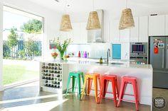 5 Unique Ideas to Bring More Color Into Your Home via www.dandelionmoms.com