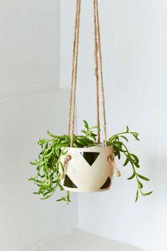 Small Spells Triangle Handmade Hanging Planter   Home Windspiele, Blumen  Pflanzen, Heimweh, Diy