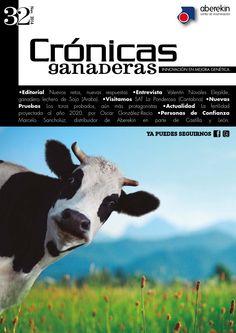 Crónicas ganaderas 32  Revista editada por Innovamk sobre ganado vacuno, mejora genética e inseminación artificial.