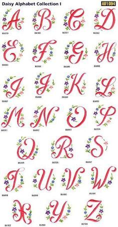 suse-kostenlose-stickerei-daisy-alphabet-kostenlose-stickerei-stickerei-sweet-free-emb/ - The world's most private search engine Hand Embroidery Patterns Free, Embroidery Alphabet, Embroidery Flowers Pattern, Machine Embroidery Projects, Embroidery Monogram, Hand Embroidery Stitches, Embroidery Fonts, Applique Patterns, Google Search
