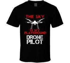 1cc501a3 16 Best Drone Pilot Shirts images | Pilot, Drones, Pilots