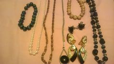Costume mixed vintage jewelry lot
