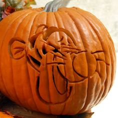 Tigger Pumpkin-Carving Template   Printables   Spoonful