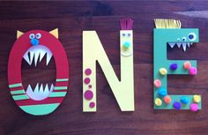 Hey, I found this really awesome Etsy listing at https://www.etsy.com/listing/219023215/monster-birthday-party-supplies