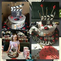 Cake temático royo de cine...