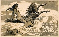 Zerritsch 1913. From www.wiener-werkstaette-postkarten.com Postcards