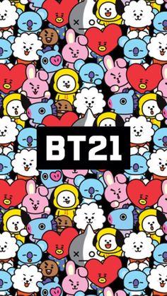 Bts, and rj image Bts Boys, Bts Bangtan Boy, K Wallpaper, Bubbles Wallpaper, Line Friends, Bts Drawings, Bts Chibi, I Love Bts, About Bts