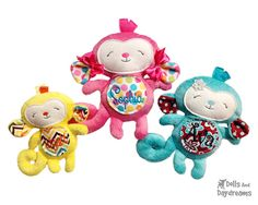 * Dolls And Daydreams - Doll And Softie PDF Sewing Patterns: Embroidery Machine In The Hoop Toy Patterns FAQ