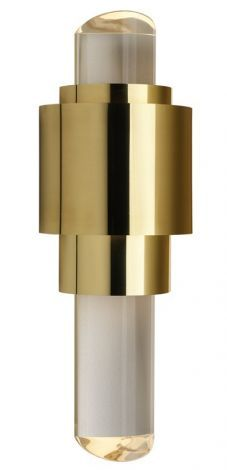 Faro Large Wall Light for Ff bathroom in polished nickel. Also comes in small.