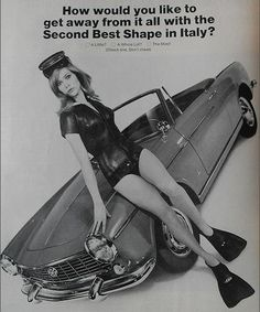 Fiat Car advertisement, 1966.