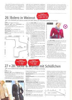 Rebecca 43, Modelle 27 + 28, pag 3/5