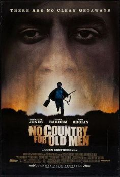 no country for old men poster Metal Sign Wall Art 8in x 12in