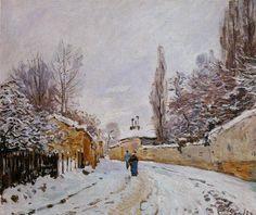 10. 시슬레(Alfred Sisley, 1839.10.31 ~ 1899.1.29)