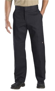 Awesome Dickies Men's Relaxed Straight-Fit Double Knee Work Pant