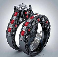 harley quinn wedding ring - Google Search
