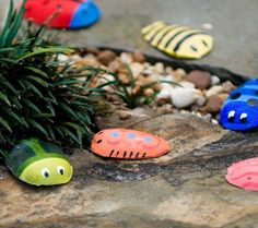 These Spoon Bugs from Family Fun would be a cute for Step 2 - Try a Bug Craft.   Mix a cup of plaster of Paris according to package directions; pour the plaster into disposable plastic spoons. Let dry, then pop the beetles out and paint. Consider adding moving eyes or other accessories like pipe cleaners or wire too!  These could be easily done when out on a field trip too. Create the bugs at the start of the program then head out to explore bugs in action, finishing the project when you return!
