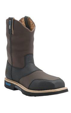 Cinch® Brown Cordura H2O Waterproof Ceramic Safety Toe Work Boot