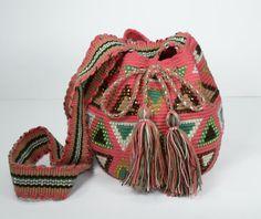 Wayuu Mochila Embellished with Crystals   door ColombianMadeShop, $130.00