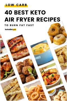 40 Best Keto Air Fryer Recipes for Crazy Weight Loss