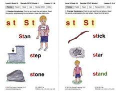 Decode CCVC Words: Lesson 1, Book 16 (Newitt Decoding Series)