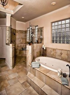 Jacuzzi tub, Walk-in shower                              …