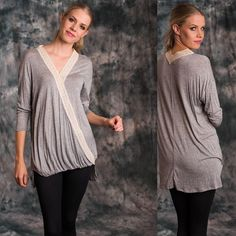 Crochet Lace Across Top Soft And Light Drop Needle Crochet Lace Detail Long Sleeve Across Top.   95% Polyester, 5% Spandex  Do not purchase this listing. Please message me to create your own listing Lewboutiquetwo Tops