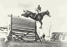 The Highest Jump  A horse called King's Own was ridden into unofficial history in the 1940s by Fred Wettach Jr. by clearing a fence standing at 8ft 3½in (over 2.5 metres)! Motion picture cameras captured the awesome effort but the record remains unofficial because it was not achieved before a public gathering of witnesses.