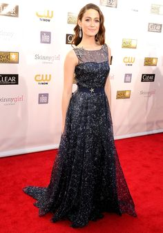 Critics' Choice Movie Awards 2013: : Emmy Rossum  ... I LOVE this dress ~ the details are so pretty