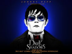 """""""Dark Shadows"""": Vamp, Camp, and a Lava Lamp -- Coming to DVD on 10/2, just in time for Halloween.  Check out my review at ReelMama.com !"""