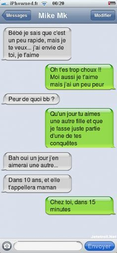 - L'amour sa blesse - S Cute Messages, Funny Text Messages, Minions, Funny Texts, Funny Jokes, Funny Images, Funny Pictures, Er 5, Love Text