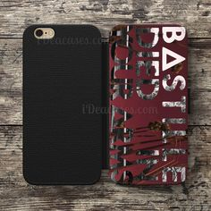 Bastille British Pop Rock Band Wallet Case For iPhone 6S Plus 5S SE 5C 4S case, Samsung Galaxy S3 S4 S5 S6 Edge S7 Edge Note 3 4 5 Cases