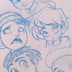 Boyz ♂️♂️♂️ #characterdesign