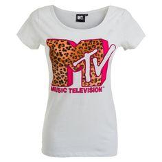 Γυναικεία Μπλούζα T-Shirt Leopard MTV #style #fashion #moda